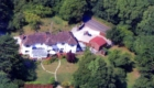 Cherry Orchard House from Above